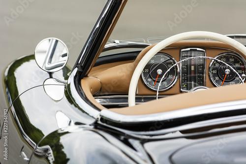 Photo sur Aluminium Vintage voitures Historisches Fahrzeug