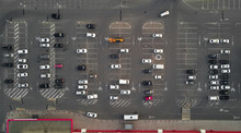Aerial View Of The Parking Lot...