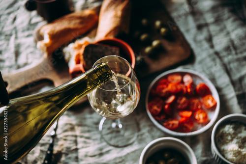 Foto op Aluminium Alcohol WIne dinner