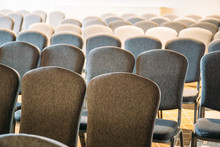 Rows Of Chairs In Event Audito...