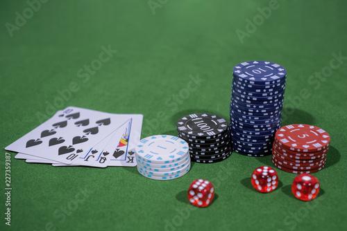 Valokuva  Casino abstract photo