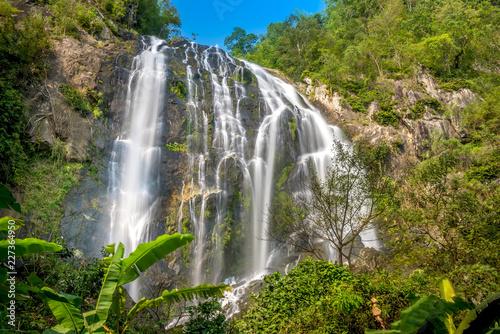 Khlong Lan Waterfall, Kamphaeng Phet Province, Thailand