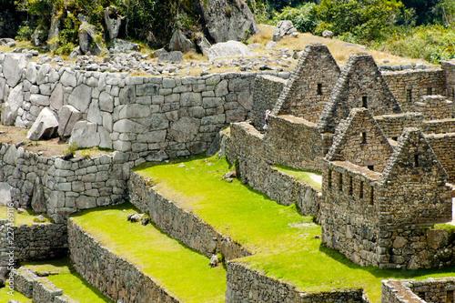 Foto Old Machu Picchu Ruins - Peru
