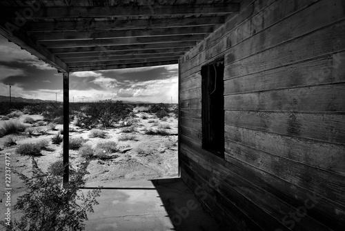 Tablou Canvas old shack