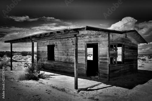 old shack Fototapet