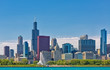 Chicago cityscape skyline