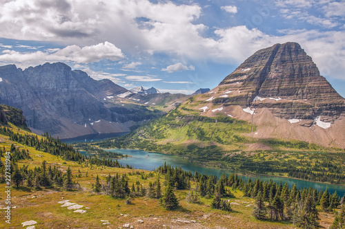 Fotografie, Tablou  Hidden Lake.Glacier National Park.Montana.USA