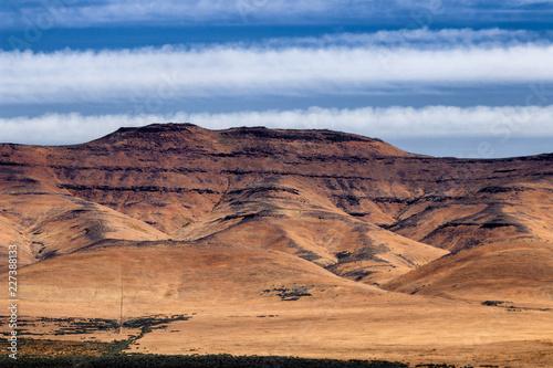 Photo  Eastern Washington Palouse vast expanse striped hills