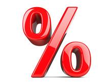Big Red Percent Sign.