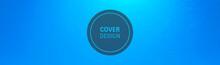 Deep Blue Underwater Background. Modern Screen Design For Mobile App And Web Design. Vector Illustration.