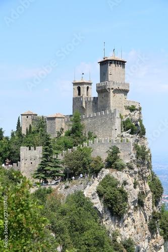 Keuken foto achterwand Buenos Aires Republic of San Marino. Torre Guaita or Prima Torre on the top of Monte Titano.