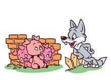 Good Wolf Three Little Pigs Ta...