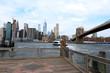 New York, Brooklyn bridge, Manhattan Skyline