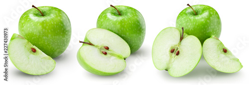 Fotografía  apple fruits Clipping Path