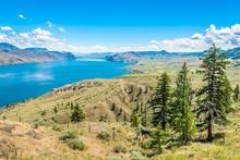 View At The Kamloops Lake In B...