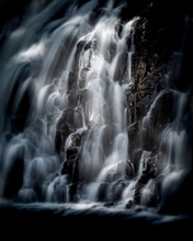 Cascading Water At Rhaeadr Du,...