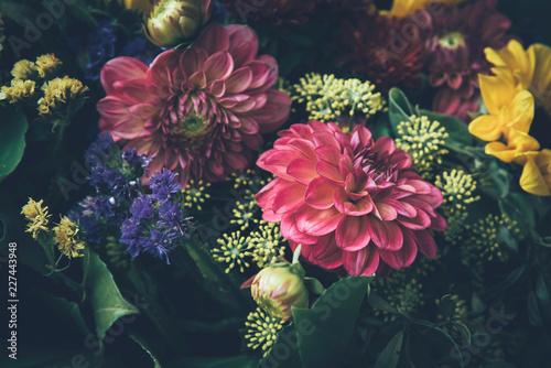 Foto op Canvas Bloemen Beautiful fairy dreamy magic flowers.