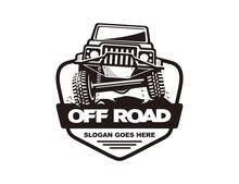Off Road Car Logo Template