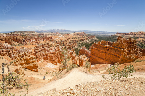 Panorama of Bryce Canyon National Park, Utah, United States