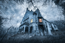 Old Haunted Abandoned House