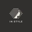 Vector logo design template for beauty salon, hair salon, cosmetic