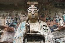 China, Sichuan Province, Dazu Rock Carvings