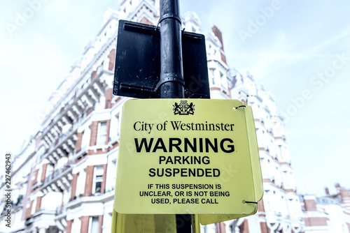 Photo  London street signs