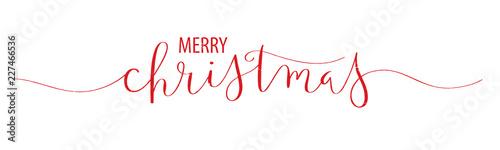 MERRY CHRISTMAS brush calli...