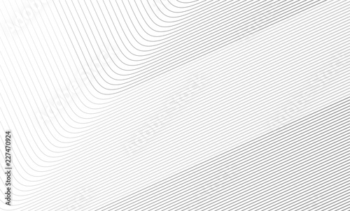 Photo  Vector Illustration of the gray pattern of lines abstract background