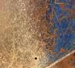 canvas print picture - bemaltes stahl stark benutzt textur hintergrund