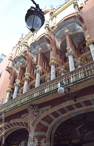 Foto op Plexiglas TheaterPalacio de la Música Catalana en Barcelona