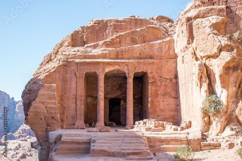 Fotografie, Obraz  Arche Porte à Pétra en Jordanie Patrimoine Mondial
