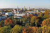 Fototapeta Miasto - Łódź, Polska. Widok na Białą Fabrykę.