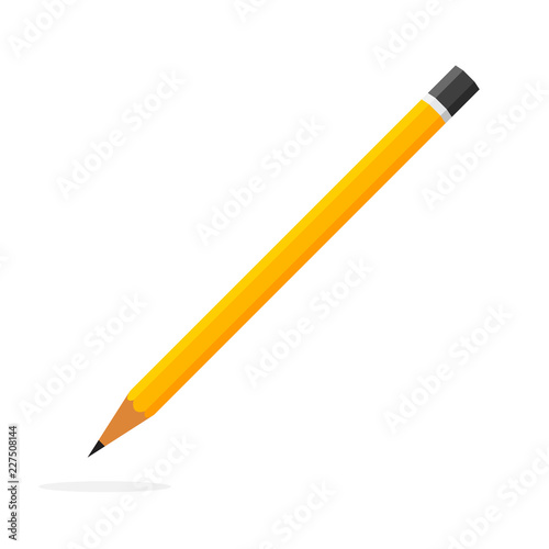 Photo  Pencil icon. Vector illustration