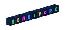 Herbivore - Multi-colored Text...