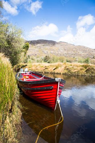 Boat in an Irish Lake 01