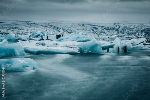 Fotobehang Gletsjers Gletschersee