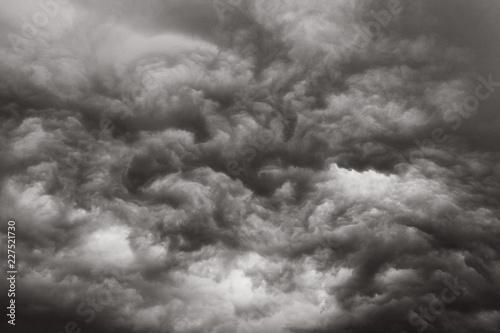 Tuinposter Hemel Close-up of clouds