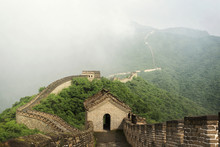 Landscape With Great Wall, China