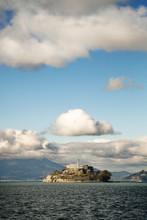 Clouds Above Alcatraz Island On San Francisco Bay, California, USA