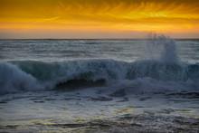 Carmel Beach Sunset California