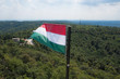 Hungarian flag in Normafa