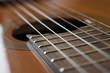 canvas print picture - Gitarre Detail