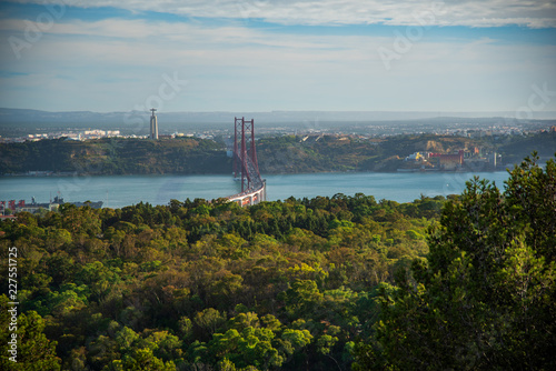 View of Lisbon from Monsanto Viewpoint