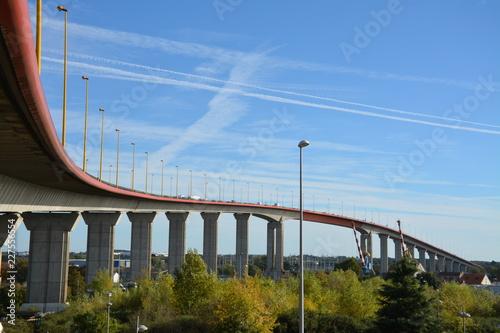 Poster Bridges Nantes - Pont de Cheviré