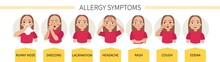 Allergy Symptoms - Lacrimation...
