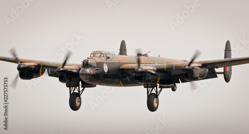 CWH Lancaster Bomber Canvas Print