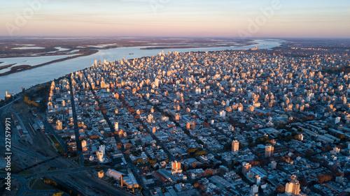 Photo sur Aluminium Amérique du Sud Autum Rosario City