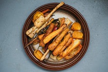 Oven Baked Carrots And Other V...
