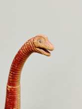Head And Neck Of Vintage Toy Dinosaur